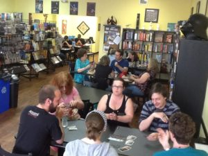 The Game Table Cafe in Action