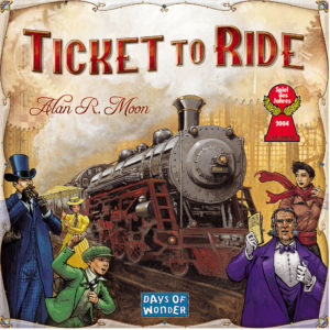 Ticket to Ride is a must for families.