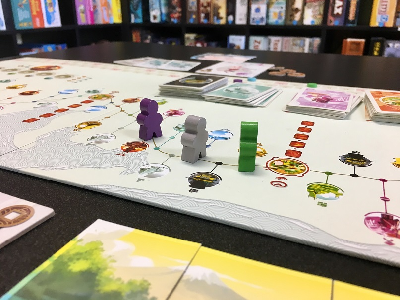 A Tour of Japan Through Board Games - Game Table Cafe