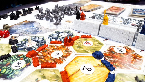 Incredible game of thrones catan